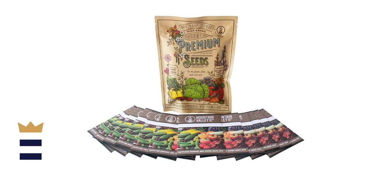 True Leaf Market Non-GMO 12 Seed Assortment