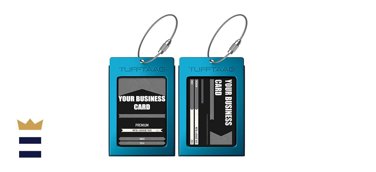 TUFFTAAG Travel ID Bag Tag