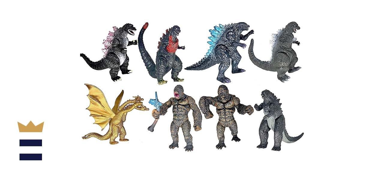 TwCare 8-Piece King Kong vs. Godzilla