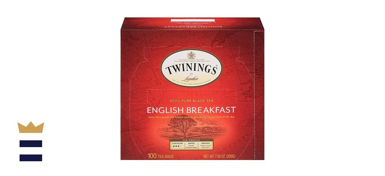Twinings of London English Breakfast Black Tea Bags