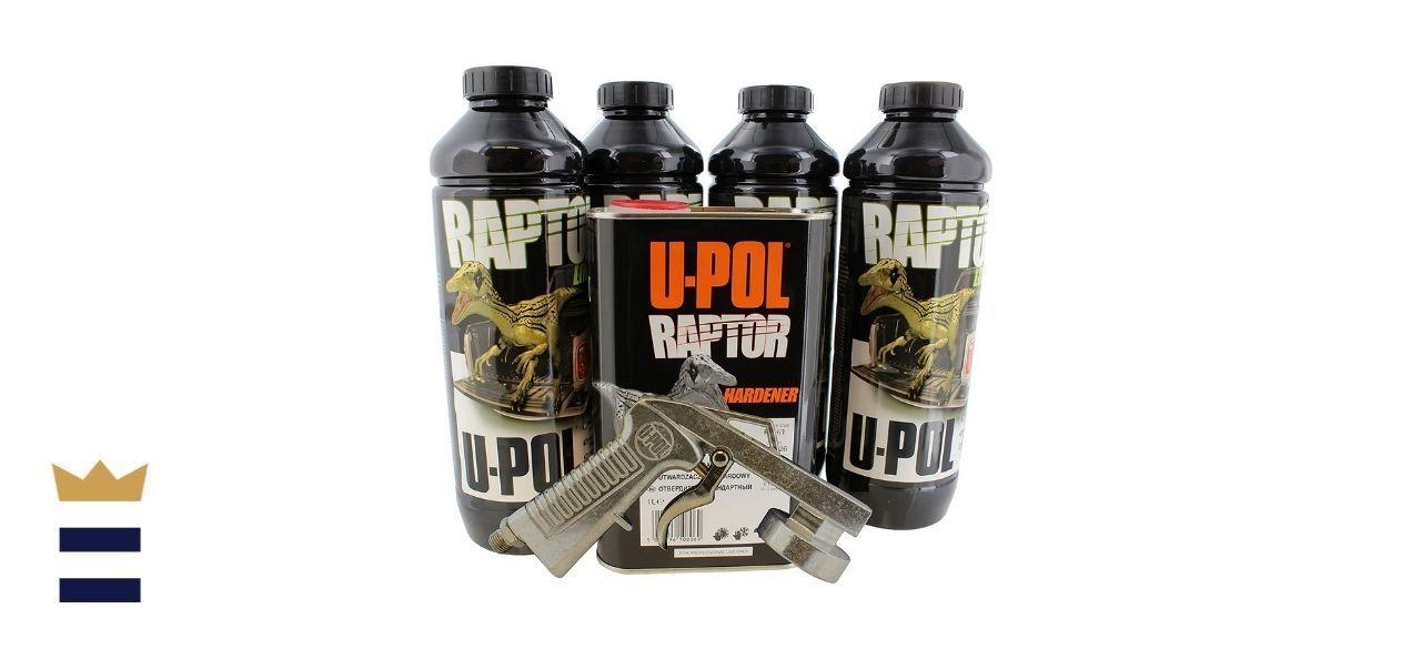 U-Pol's Raptor Black Urethane Spray-On Truck Bed Liner Kit