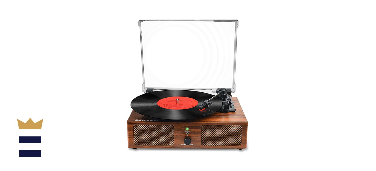 Udreamer Vinyl Record Player Bluetooth Turntable