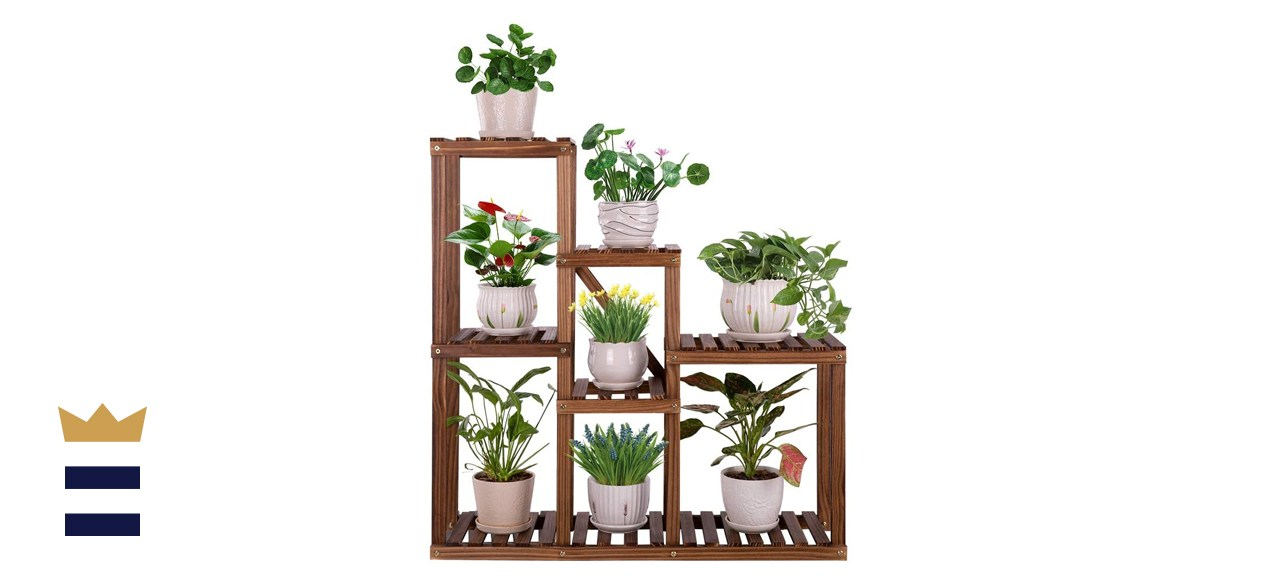 Ufine Multitier Wood Plant Stand
