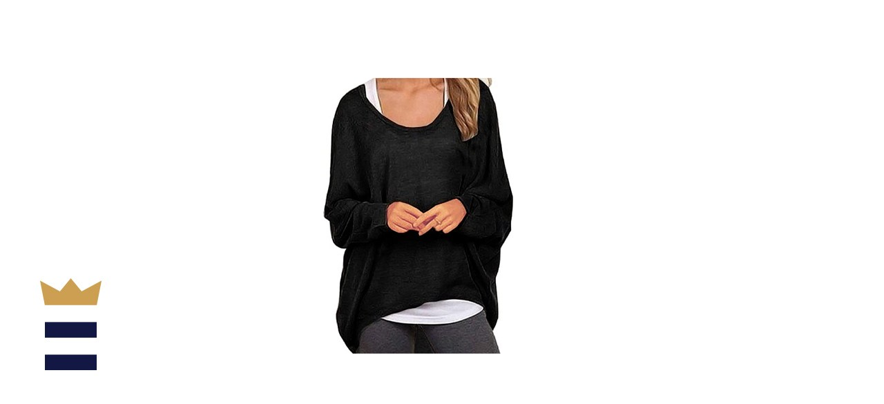 UGET Women's Casual Oversized Sweater
