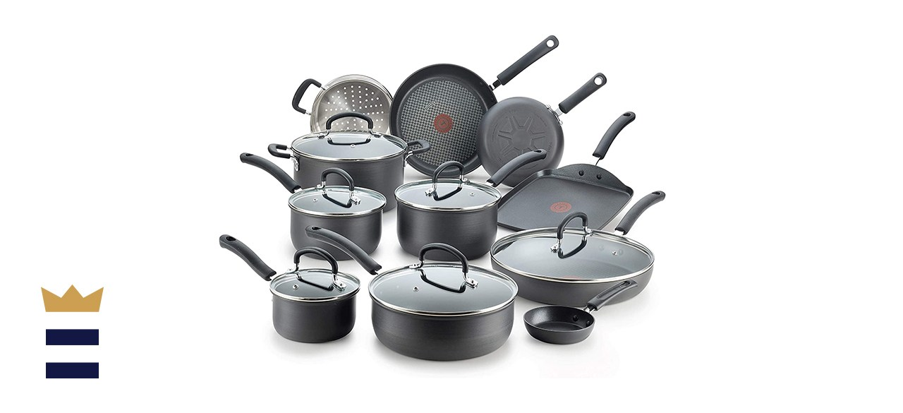 Ultimate Hard-Anodized 17-Piece Cookware Set