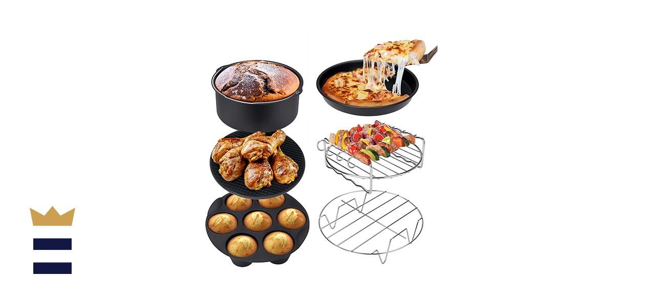 Ultrean 6-Piece Air Fryer Accessories Set
