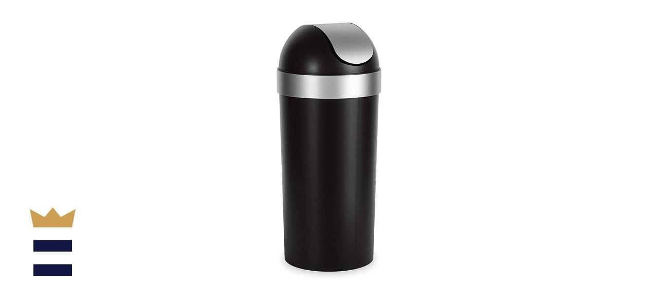 Umbra Venti 16.5 Gallon Swing Top Kitchen Trash Can