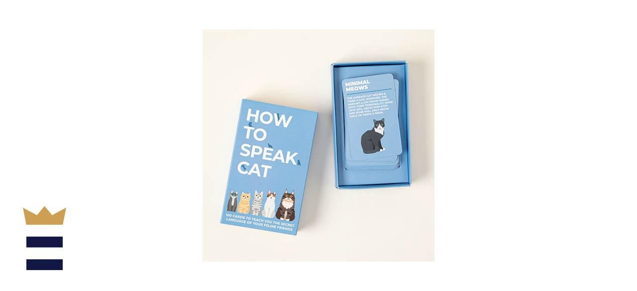 Uncommon Goods How To Speak Cat Cards
