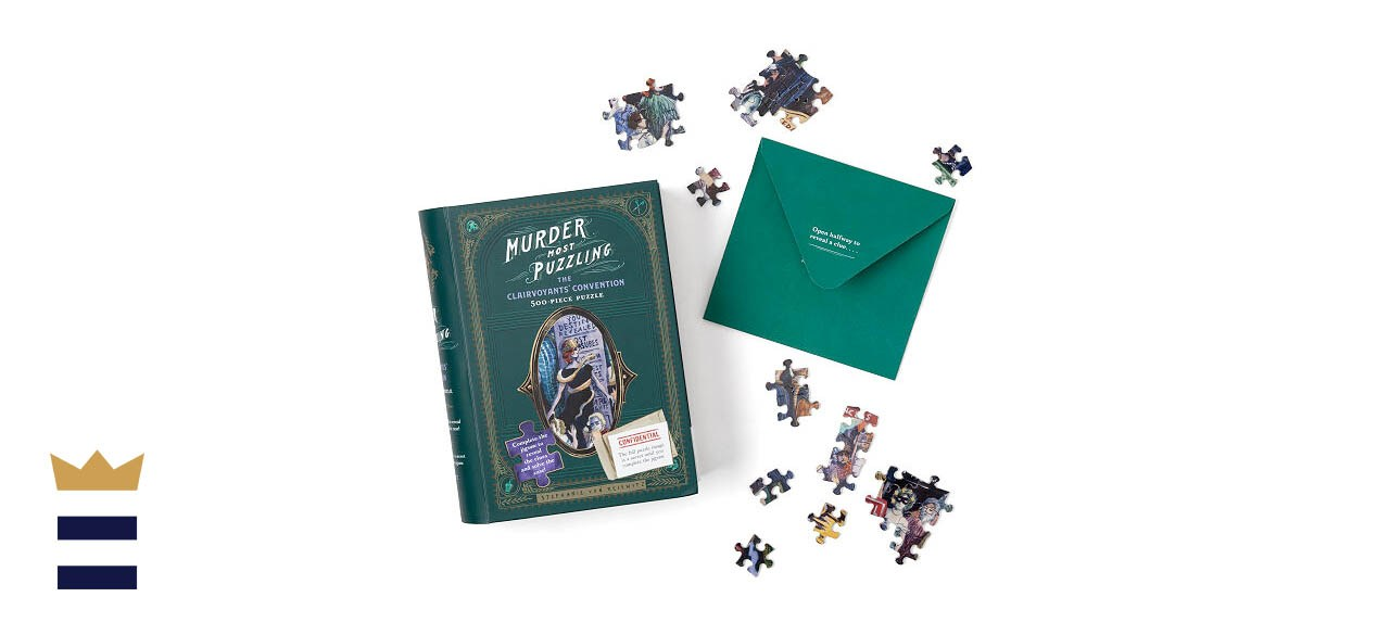Uncommon Goods Murder Mystery Jigsaw Puzzle