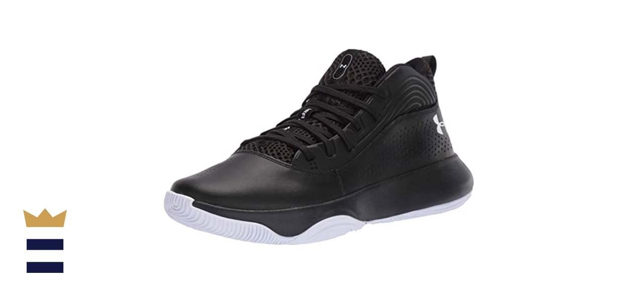 Under Armour's Lockdown 4 Basketball Shoe