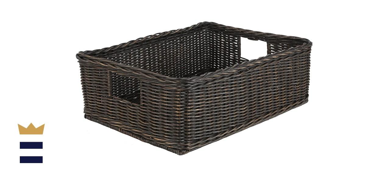 under-bed basket