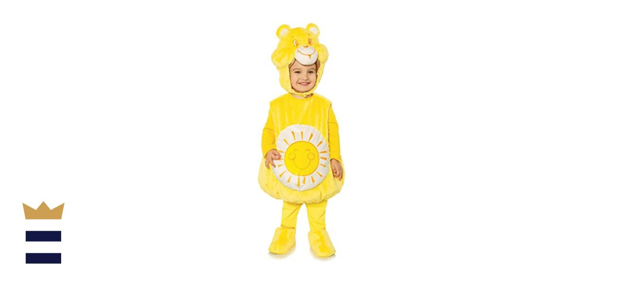 Underwraps Care Bears Funshine Bear Toddler's Costume