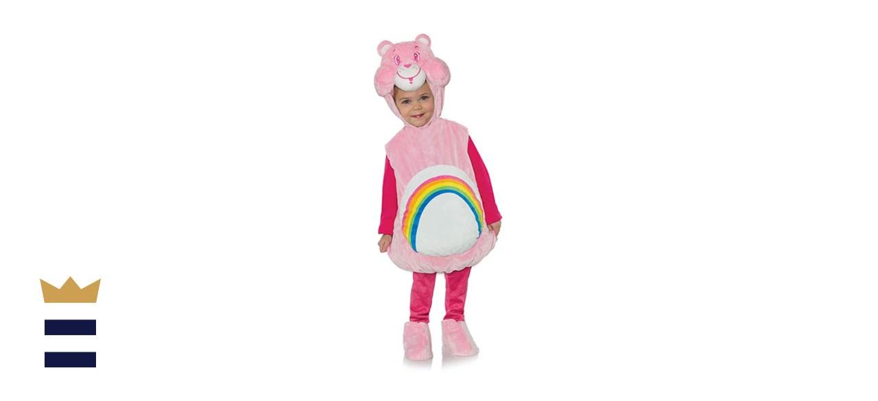 Underwraps Toddler Cheer Bear Care Bears Costume