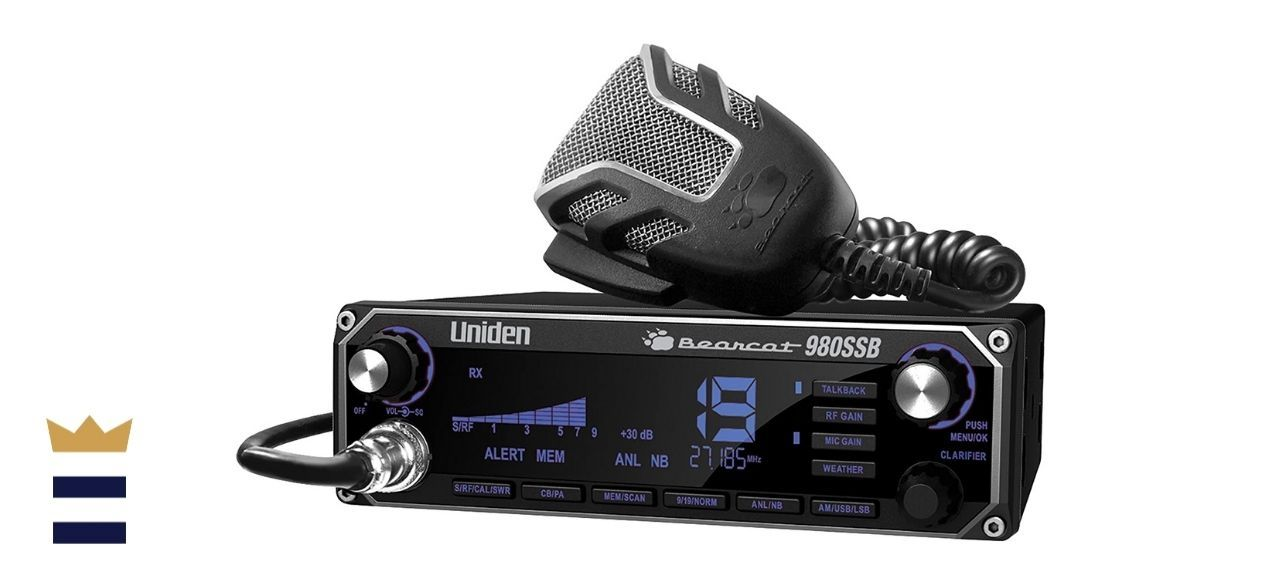 Uniden BEARCAT 980 40- Channel SSB CB Radio