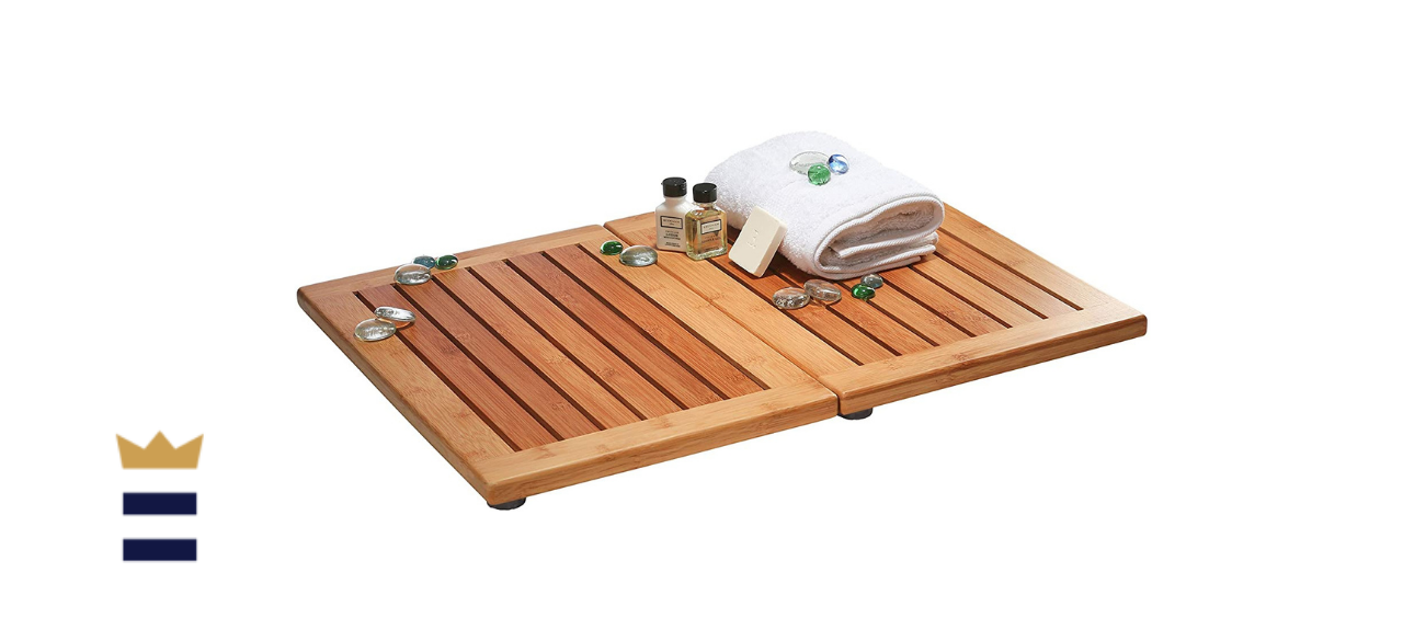 Bambüsi Premium Bamboo Bathroom Floor Mat