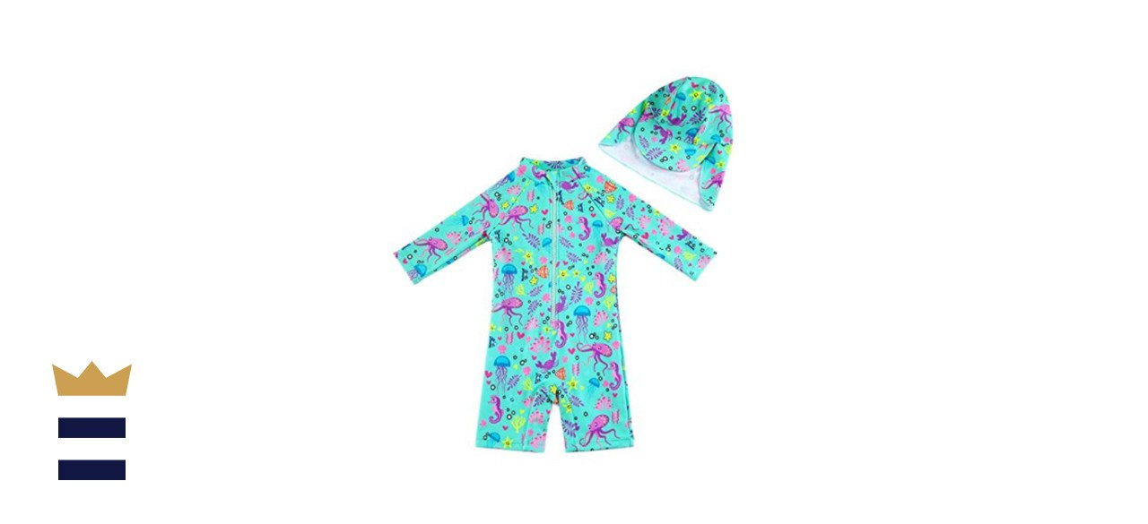 Upandfast Baby/Toddler One Piece Sunsuit