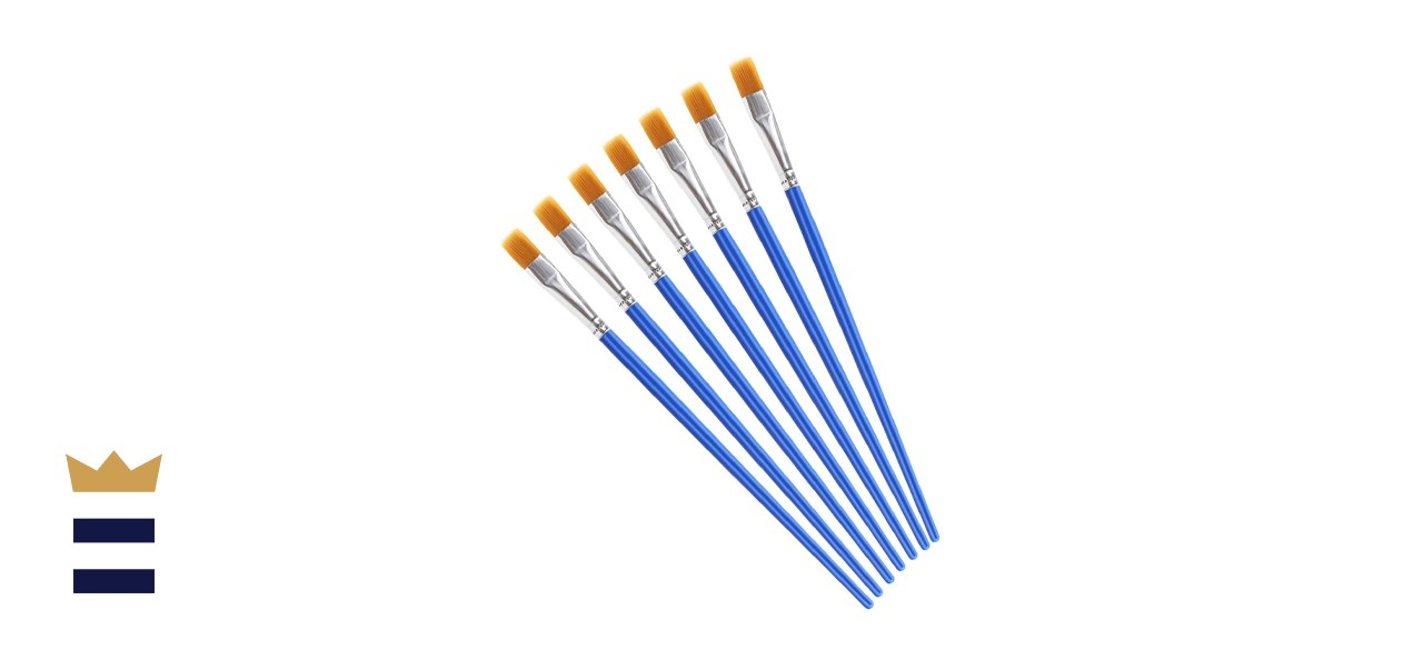 Upins Wide Flat Paint Brushes