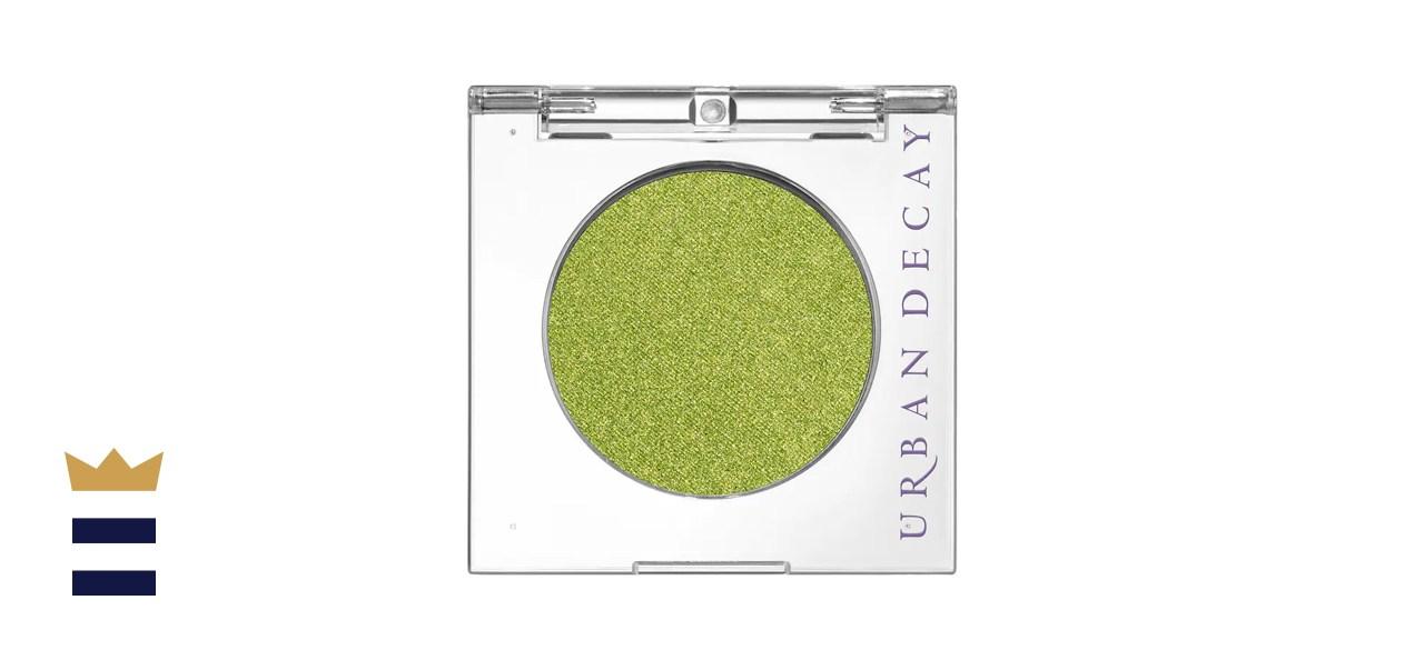 Urban Decay Lime Green Shimmer Eyeshadow