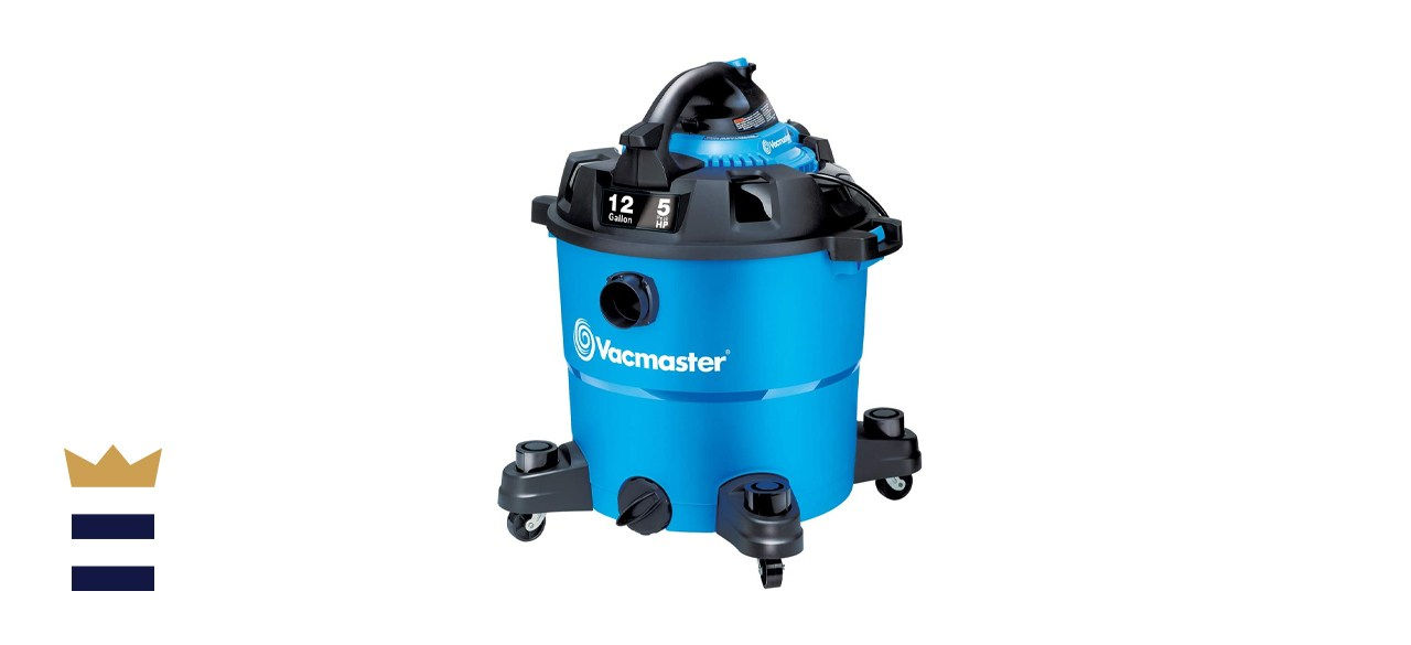 Vacmaster 12-Gallon Wet/Dry Shop Vacuum with Detachable Blower