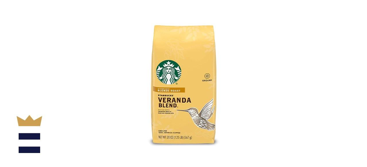 Starbucks Blonde Roast Ground Coffee - Veranda Blend
