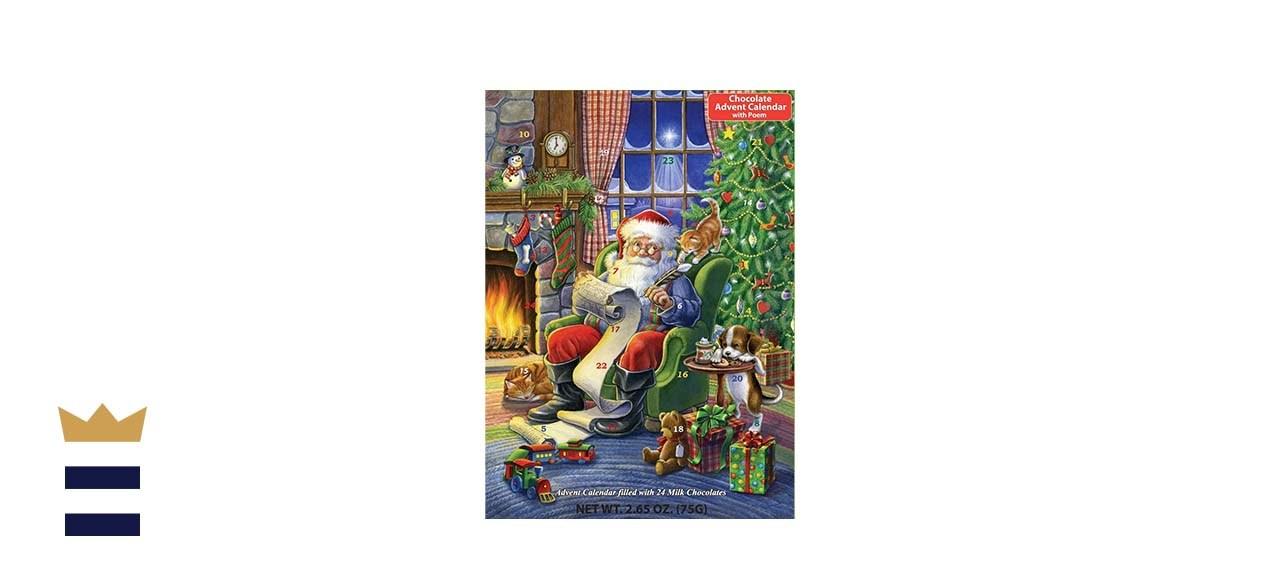 Vermont Christmas Company Naughty or Nice Chocolate Advent Calendar