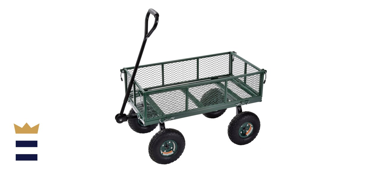 Sandusky Lee CW3418 Muscle Carts Steel Utility Garden Wagon