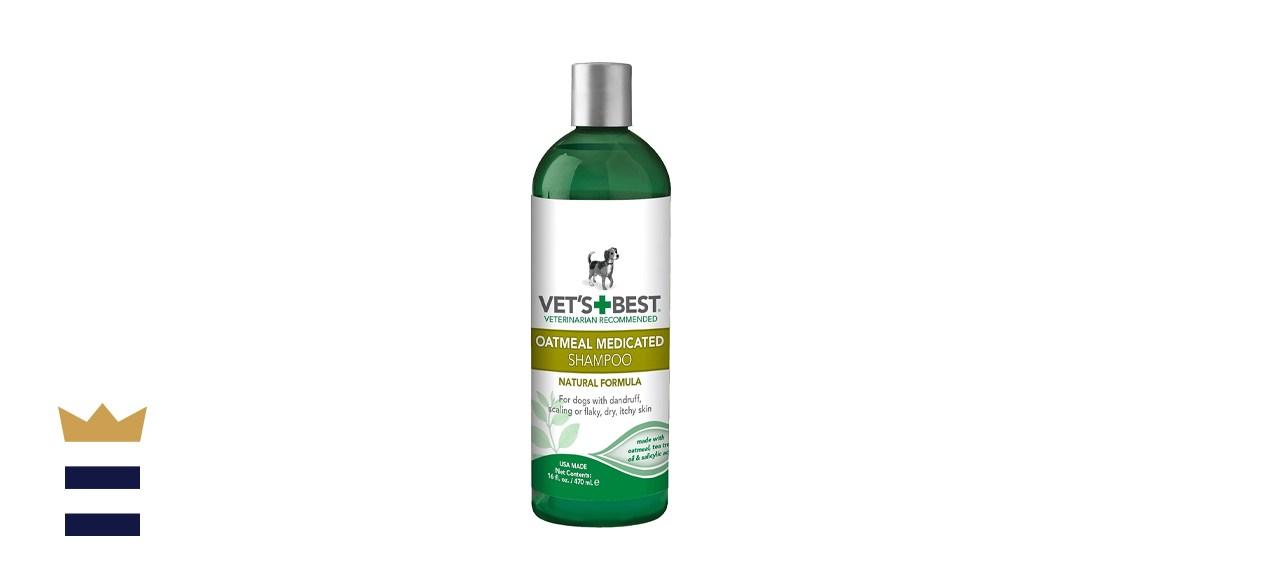 Vet's Best Medicated Oatmeal Shampoo for Dogs