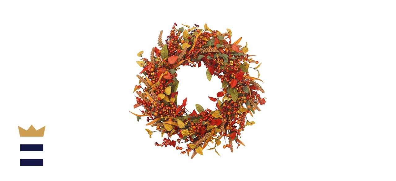VGIA Artificial Fall Wreath