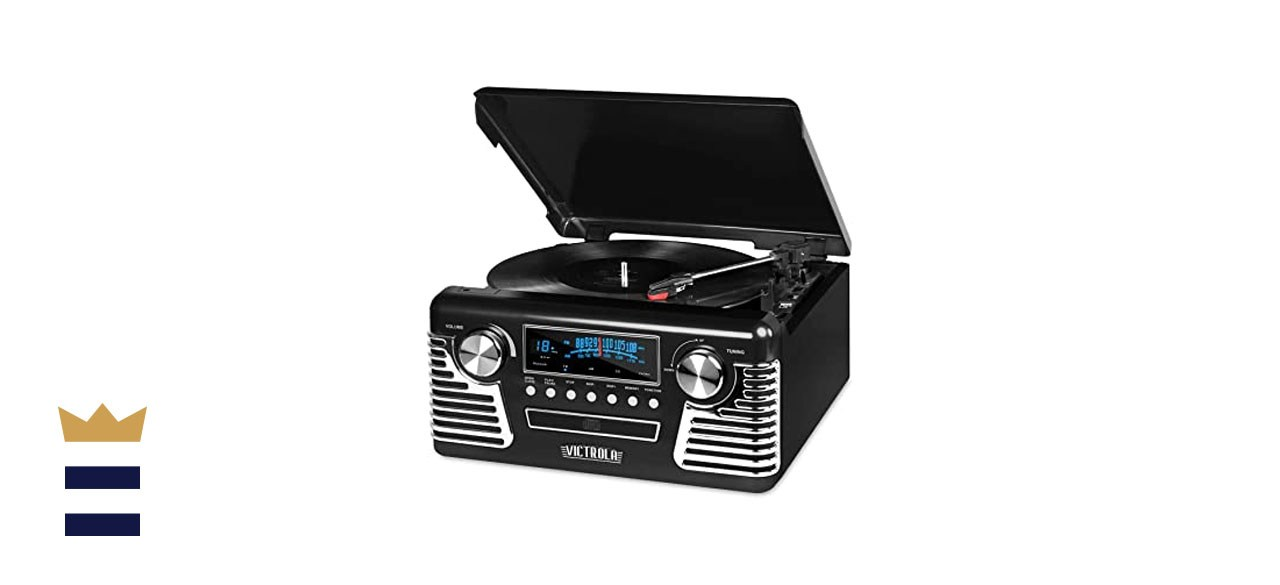 Victrola 50's Retro Bluetooth Record Player