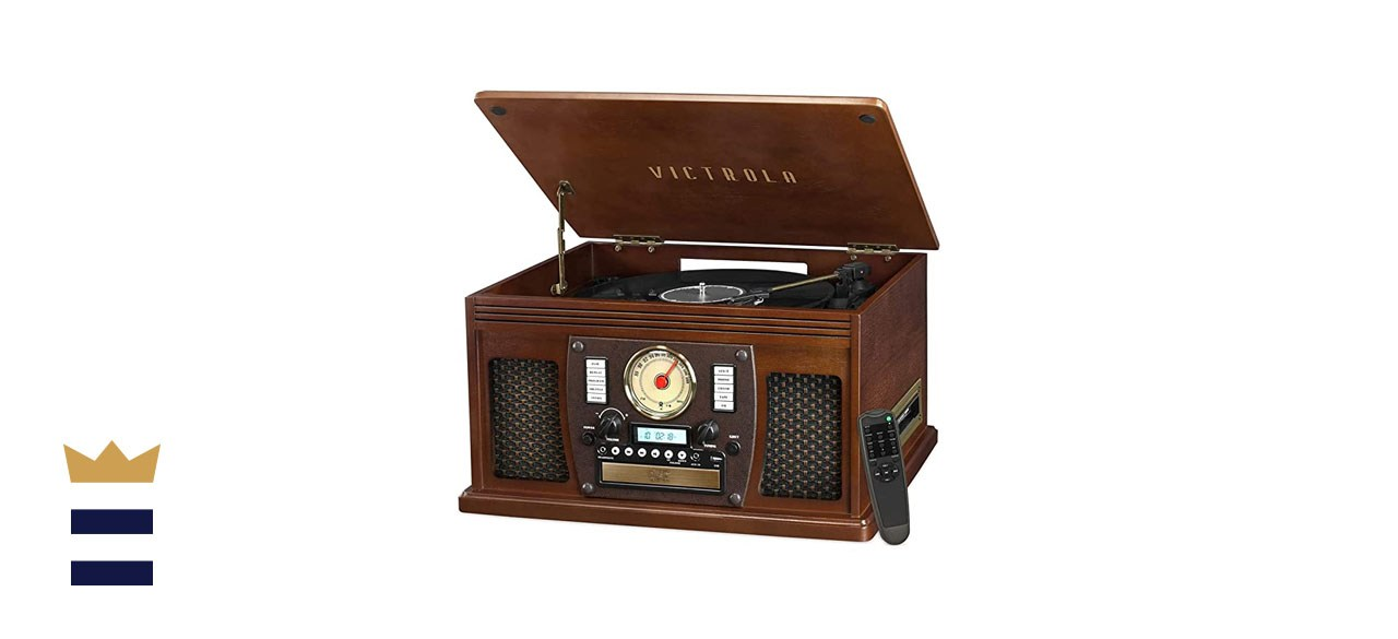 Victrola 8-in-1 Record Player