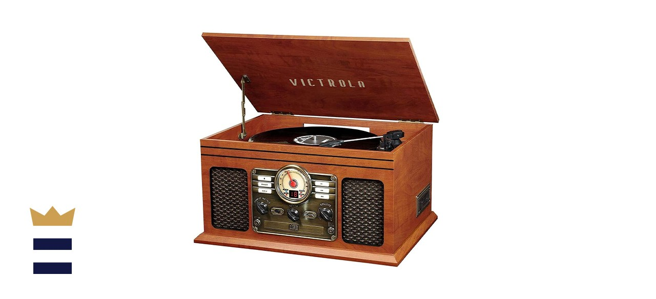 Victrola Nostalgic 6-in-1 Bluetooth Record Player