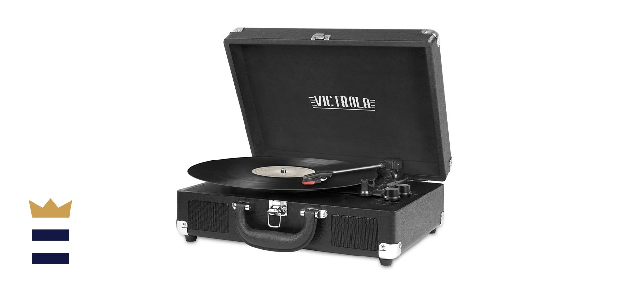 Victrola Vintage 3-Speed Bluetooth Suitcase Record Player