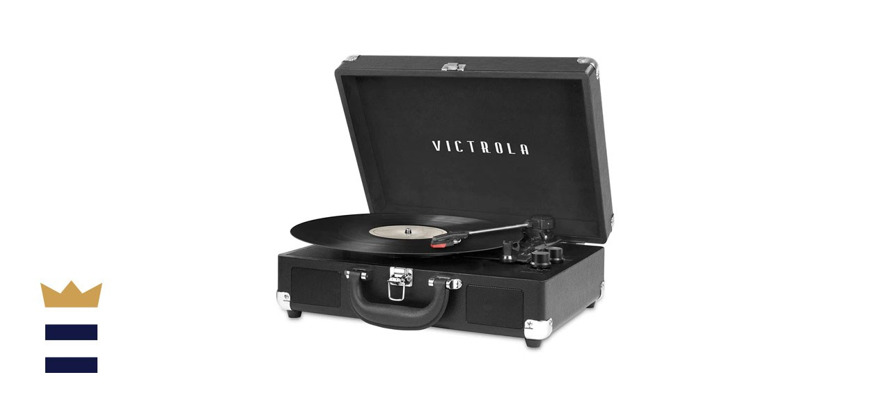 Victrola Vintage 3-Speed Suitcase Record Player