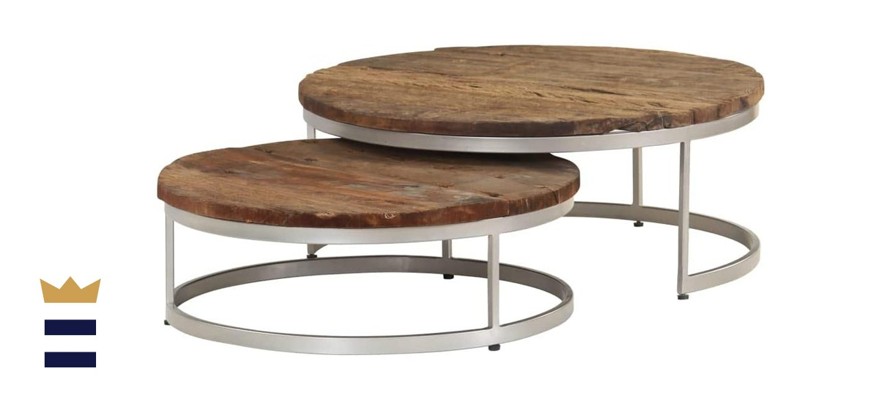 VidaXL nesting coffee table set