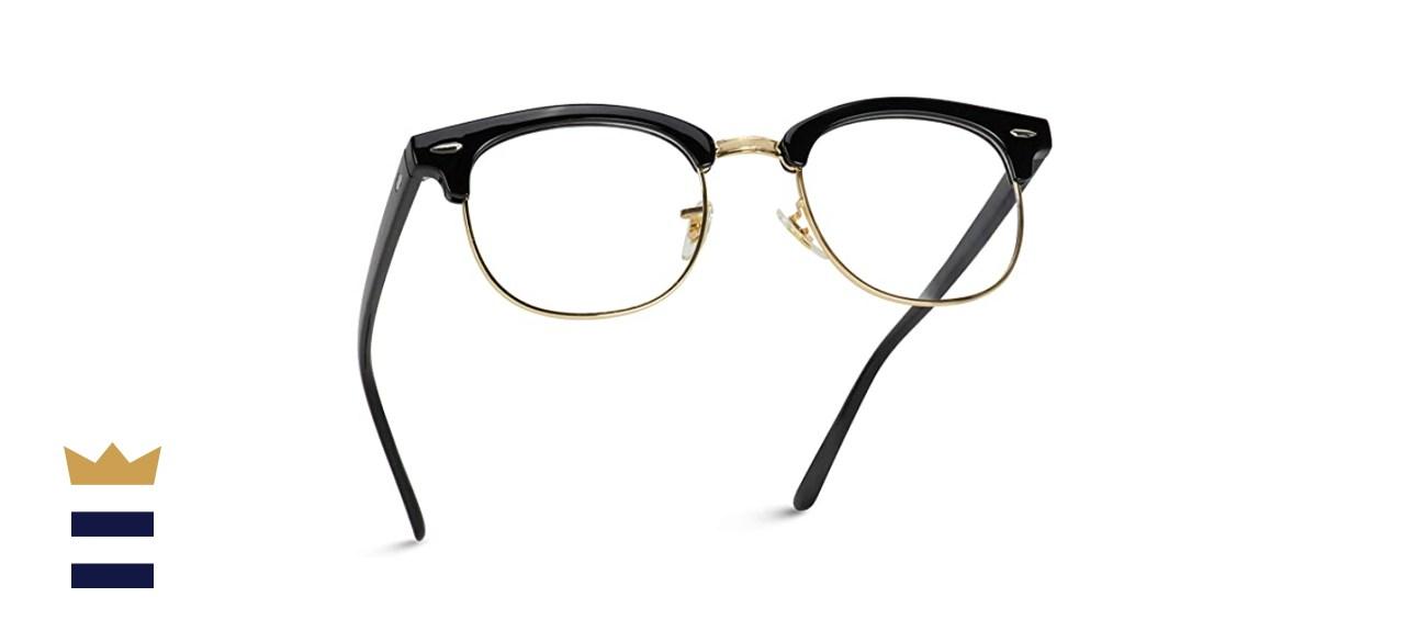 Vintage Inspired Blue Light Blocking Glasses