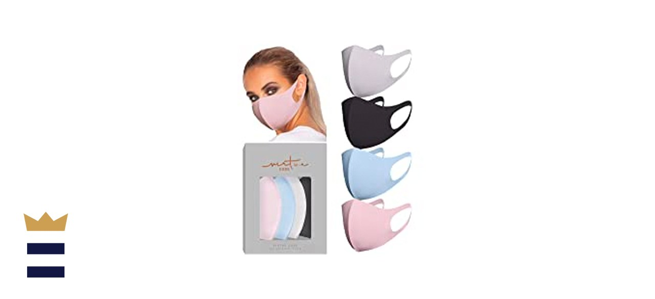 Virtue Code Second Skin Cloth Face Masks, 4-Pack
