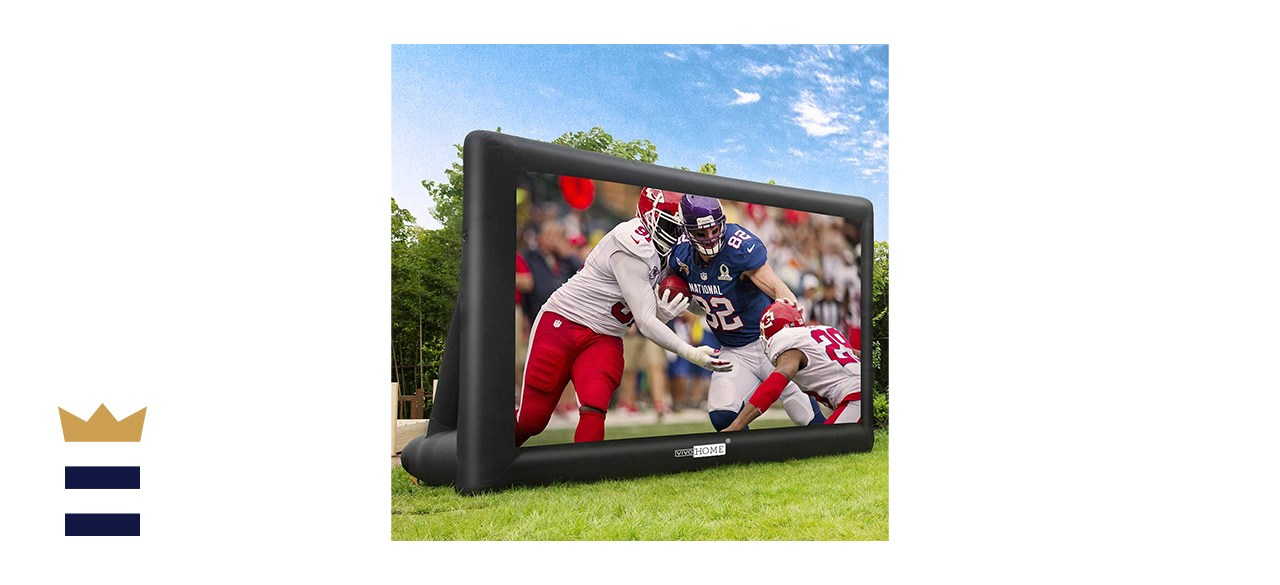 VIVOHOME Inflatable Projector Screen
