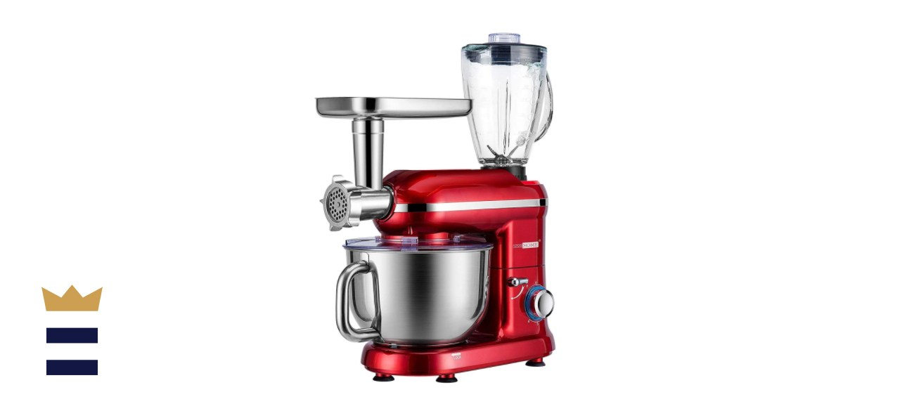 VIVOHOME 6-Quart 6-Speed Multifunctional Stand Mixer