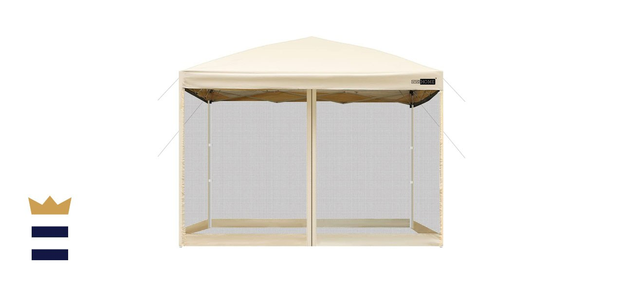 VIVOHOME Oxford Outdoor Easy Pop Up Canopy Screen Tent