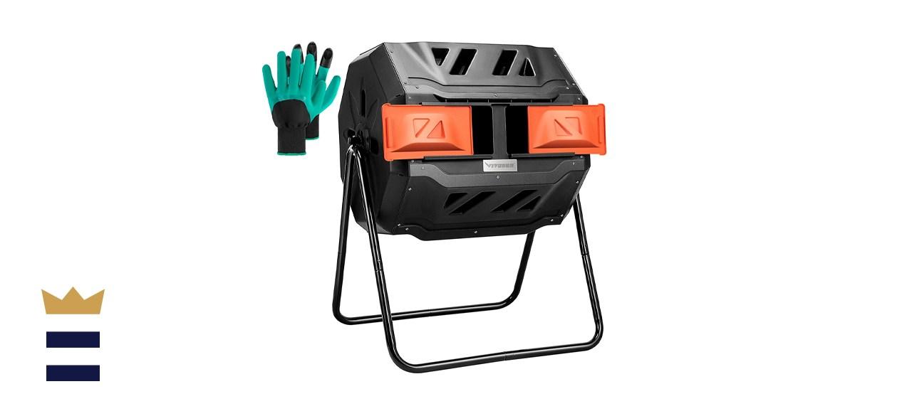 VIVOSUN Outdoor Tumbling Composter
