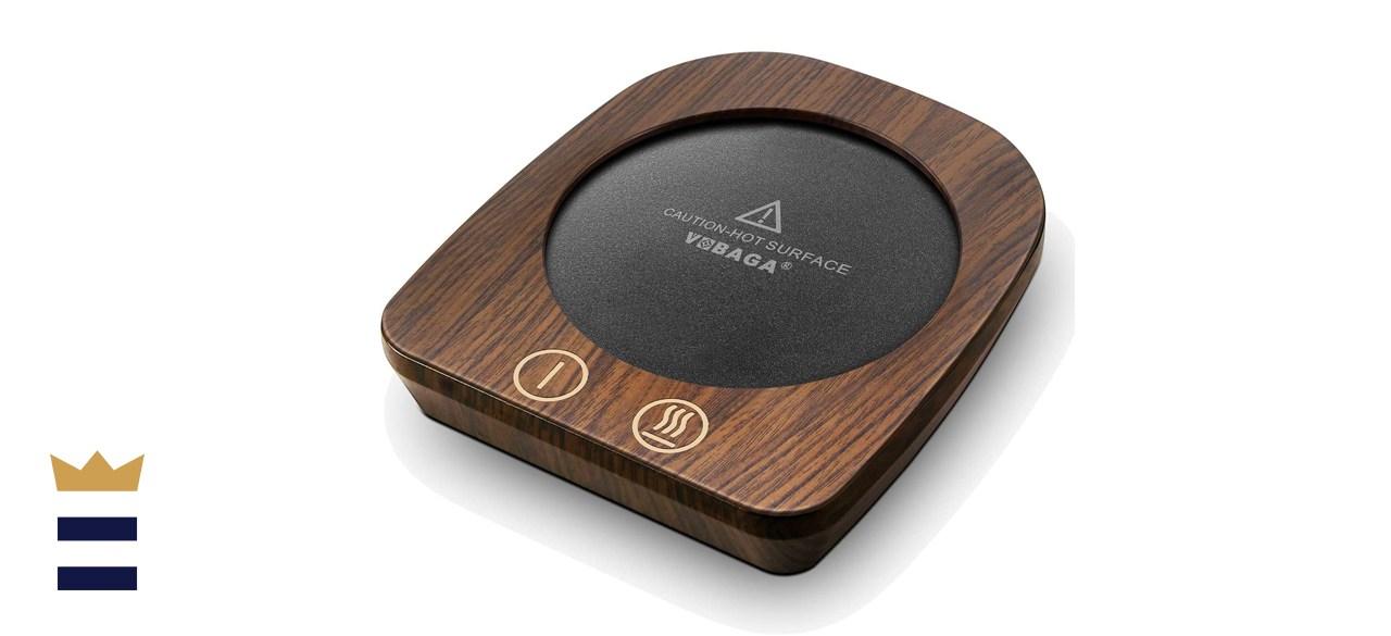 VOBAGA Imitation Wood Grain Coffee Cup Warmer