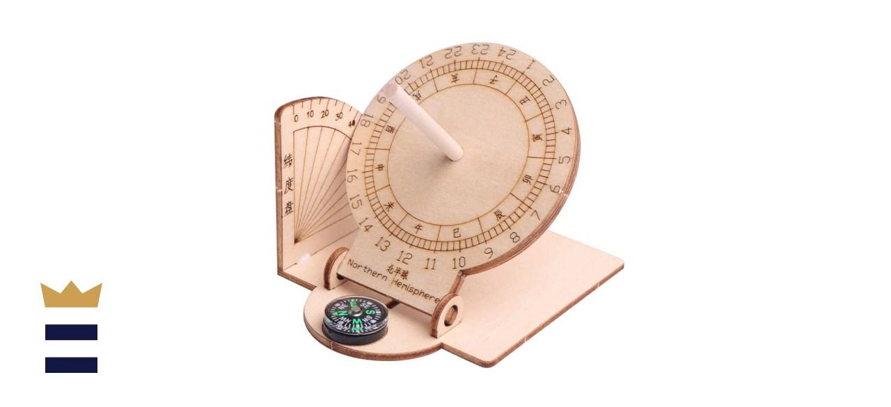 VORCOOL Equatorial Sundial Clock