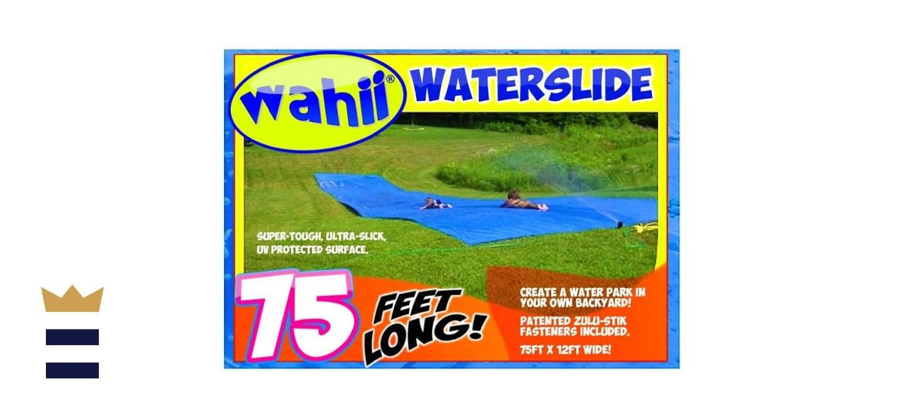 Wahii World's Biggest Backyard Lawn Water Slide
