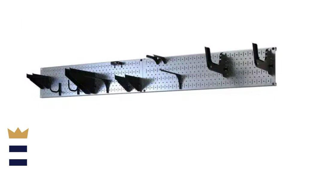 pegboard tool rack