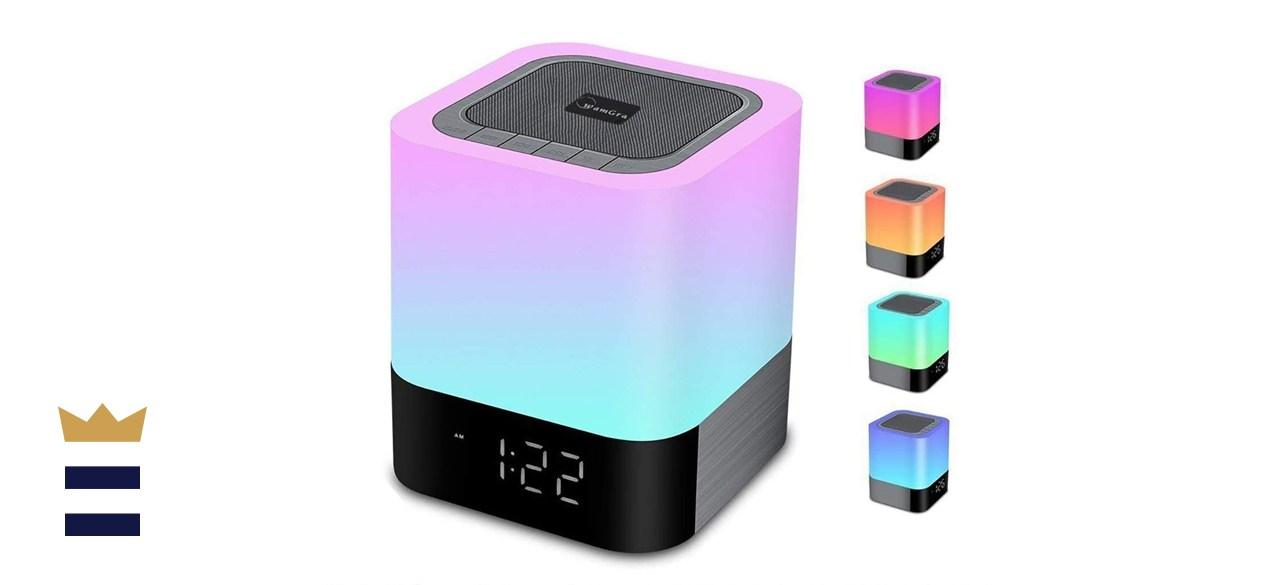 WamGra Night Light Bluetooth Speaker