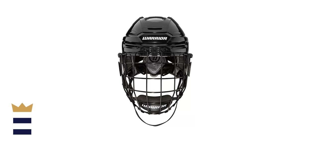 Warrior Senior Alpha Hockey Helmet Combo