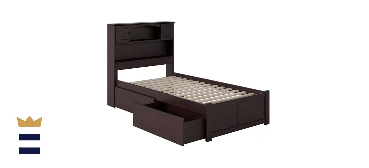 Wasilewski Extra Long Twin Solid Wood Mate's & Captain's Bed