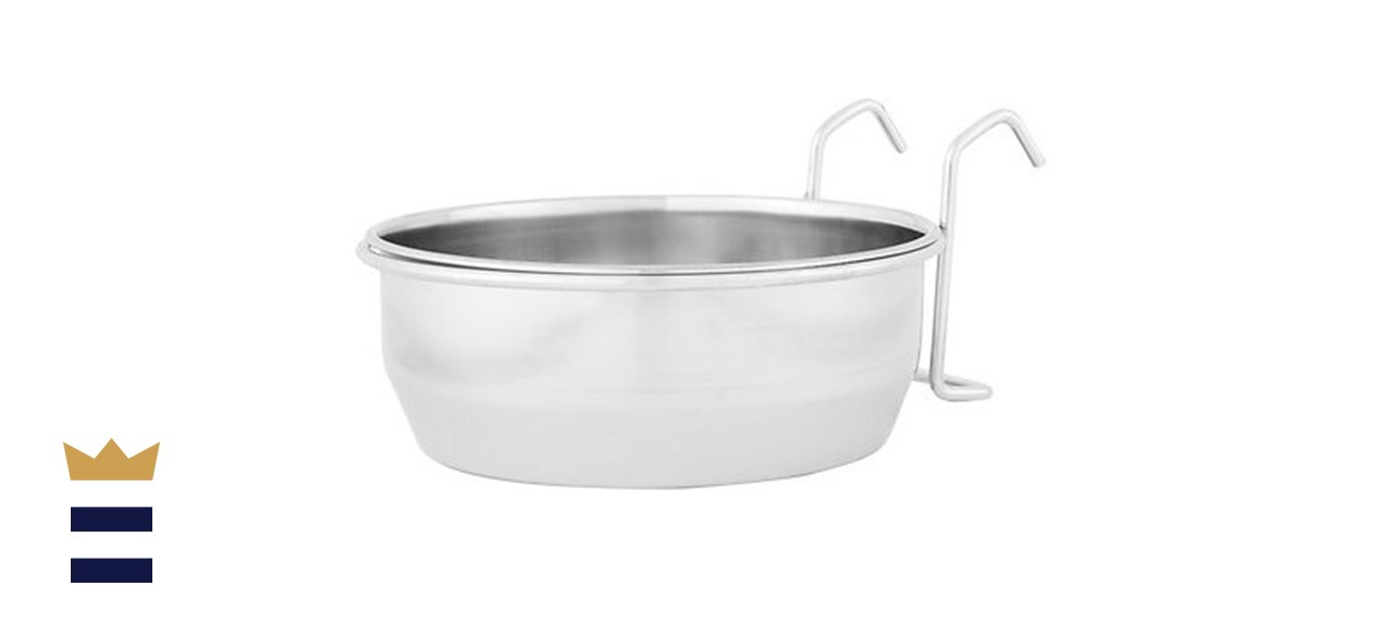 Maslow Stainless Steel Kennel Dog Bowl