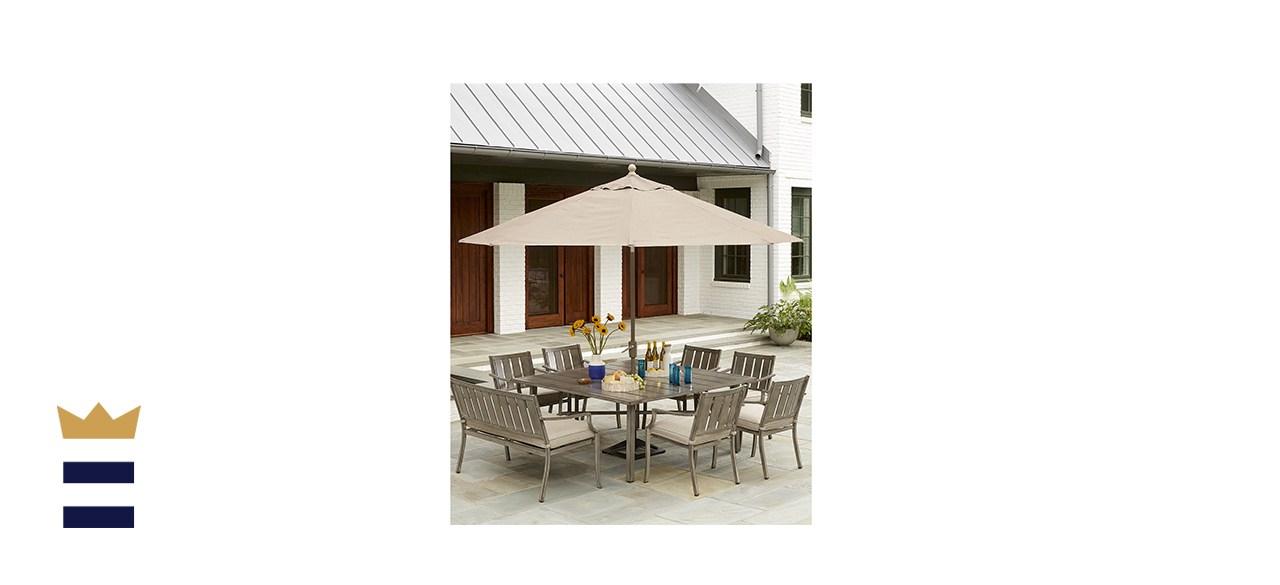 Wayland Outdoor Aluminum 8-Piece Dining Set