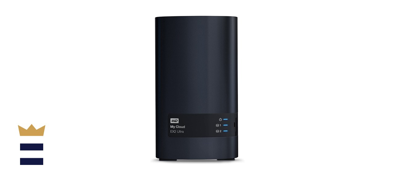 WD Diskless My Cloud EX2 Ultra Network Attached Storage WDBVBZ0000NCH